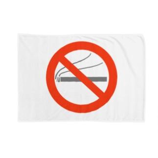 no_smoking Blankets