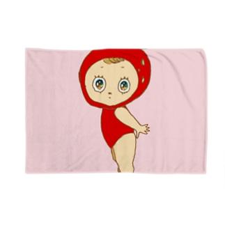 フラガリアアナナッサちゃん Blankets