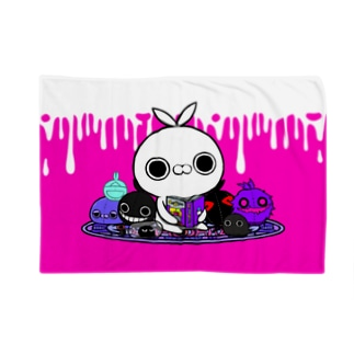 クレイジー闇うさぎ(やみぐるみ) Blankets