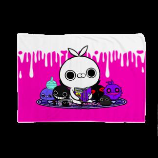 クレイジー闇うさぎSHOPのクレイジー闇うさぎ(やみぐるみ) Blankets