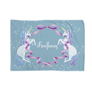 unicorn(blue) Blankets