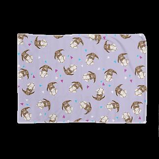 Fanfleecyのホーランドロップ(チェスナット) Blankets