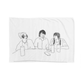 萎縮トリオ Blankets