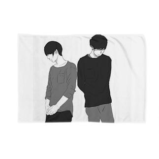 マッシュ男子 Blankets