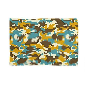 ピクセル迷彩 Blankets
