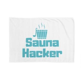 サウナハッカー Blankets