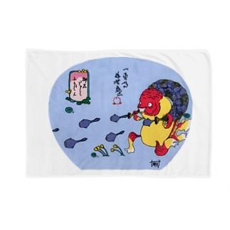 おたまじゃくし〜ふうじん〜 Blankets