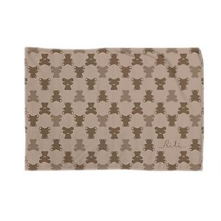 モノグラム(クマ) Blankets
