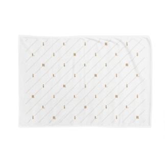 モノグラム(ロゴ) Blankets
