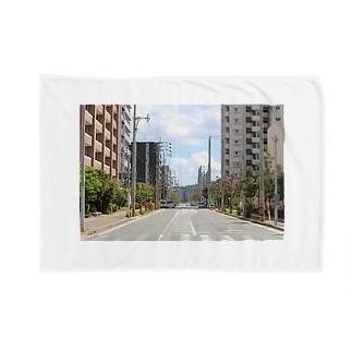 九大学研都市側 Blankets