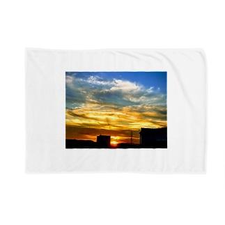 陽の沈み Blankets