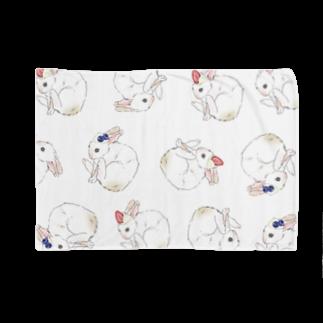 むぎのムギ柄 Blankets