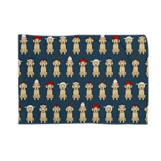 かぶりもの(ネイビー) Blankets