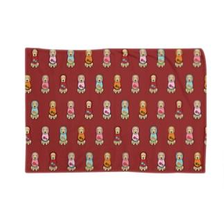 コメリョーシカ(レッド) Blankets