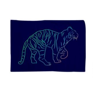 とらじ(トラ) Blankets