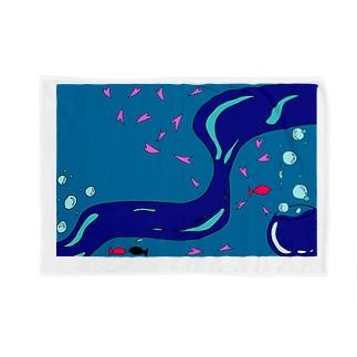 水中 Blankets