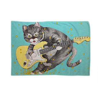 ギターと猫 Blankets