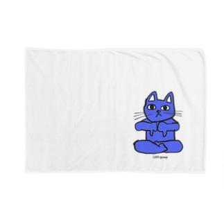 フレキシビリティー・ラックス・誠(2EA group カラフルニャーンコ軍団) Blankets
