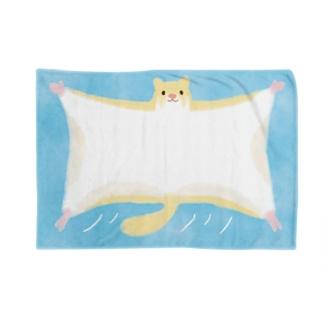 ふわふわモモンガ Blankets