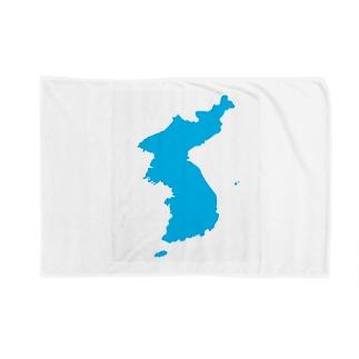 統一朝鮮旗 General Korea flag Blankets