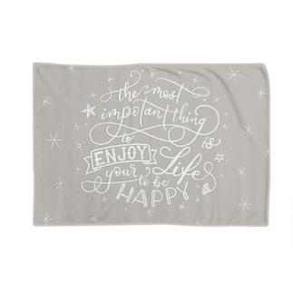 enjoy☆happy Blankets