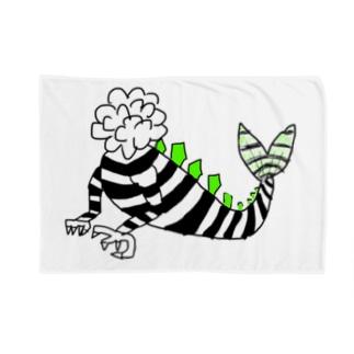 【NANN TO NAKU】かいじゅう Blankets