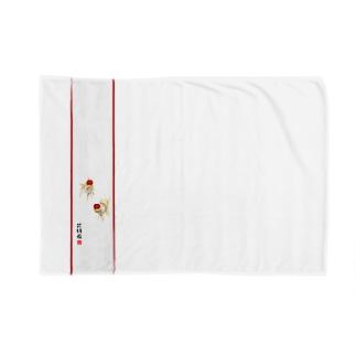 【金魚】 丹頂~朱漆~ Blankets