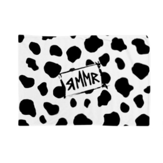 牛柄ブランケット Blankets