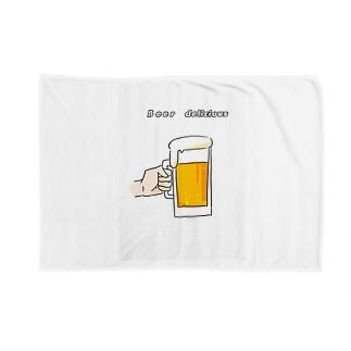 ビールうめえ Blankets