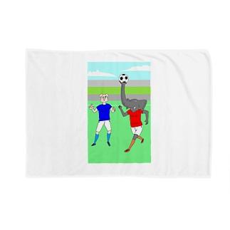 ボールを運ぶゾウ Blankets