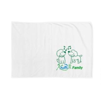 ツインズ(プードル)ロゴ入り Blankets