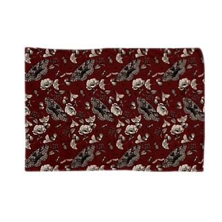 イボタのボルドーブランケット Blankets
