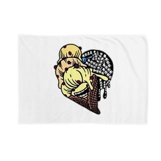 マダム ラムレーズン・スミコ Blankets