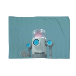 VoxelArt-ROBOT- Blankets