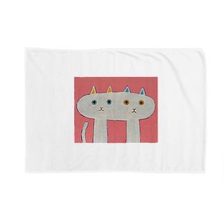 なかよしなねこ Blankets