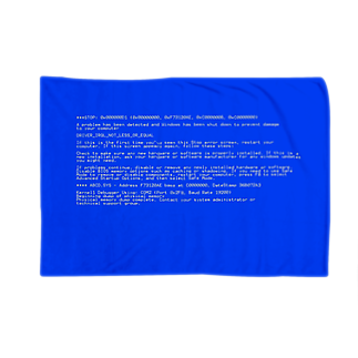 Desktop LabのBSOD(Blue Screen of Death) ブランケット