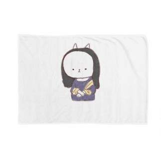 もにゃリザ Blankets