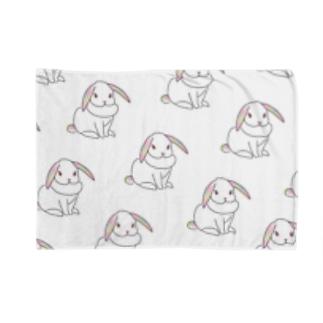 ♡うさぎホワイト♡ Blankets