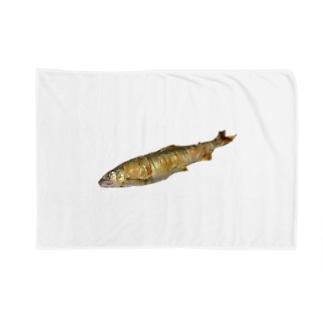 長良川の鮎 Blankets