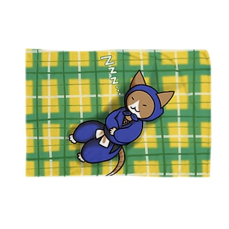 ねこ忍者さん お昼寝 Blanket