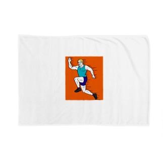 スポーツの秋だよマイケゥ Blankets