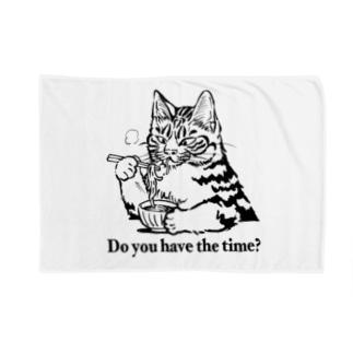時そば猫 Blankets