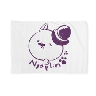 にゃっぷりん Blankets