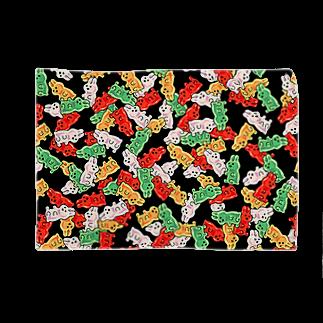 奇舌可愛百貨SUZURI支店のぎっしりPATIMO Blankets