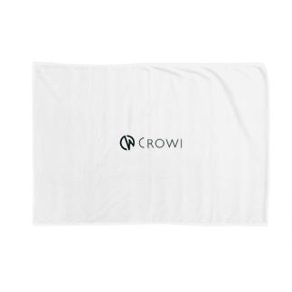 Crowi Fun ShopのCrowi Letter Logo Blankets