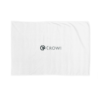 Crowi Fun ShopのCrowi Letter Logo ブランケット