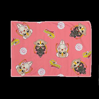 奇舌可愛百貨SUZURI支店のふたりはぴりから Blankets