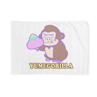 YumeGorilla(ゆめごりら)グッズ Blankets