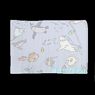 毎サプのもえぺろちゃんの水槽の中だけがこの魚生 Blankets