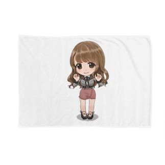ぽんこつ商店公式グッズ  SDここなし Blankets